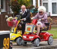 Elderly on Scooters